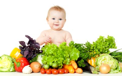 Fruits and Vegetables for Babies
