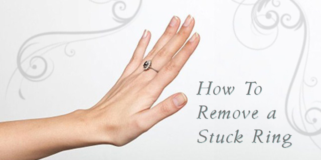 How To Get A Ring Off A Swollen Finger Video