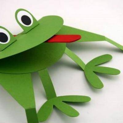 Поделки лягушки своими руками из бумаги