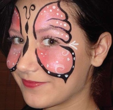Bunny Face Paint. Face Painting Ideas 5  Butterfly 10 Fabulous with Easy Steps New Kids Center