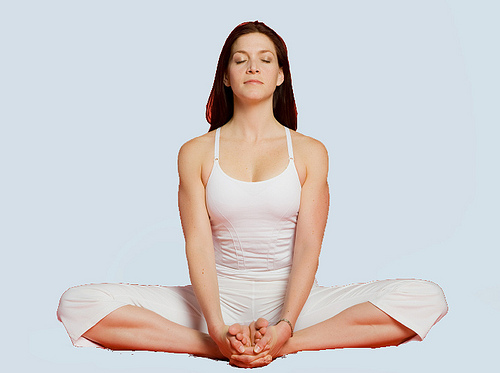 Butterfly pose - YIN Yoga