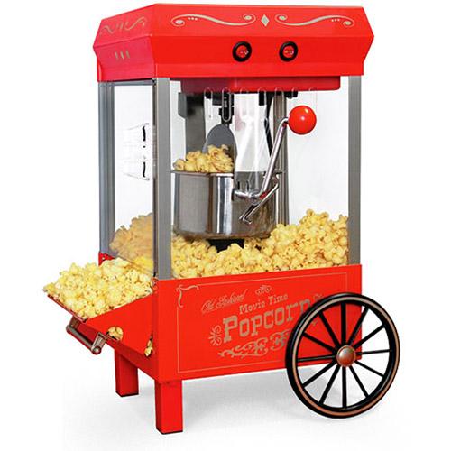 How To Make Popcorn In Old Fashioned Popcorn Machine