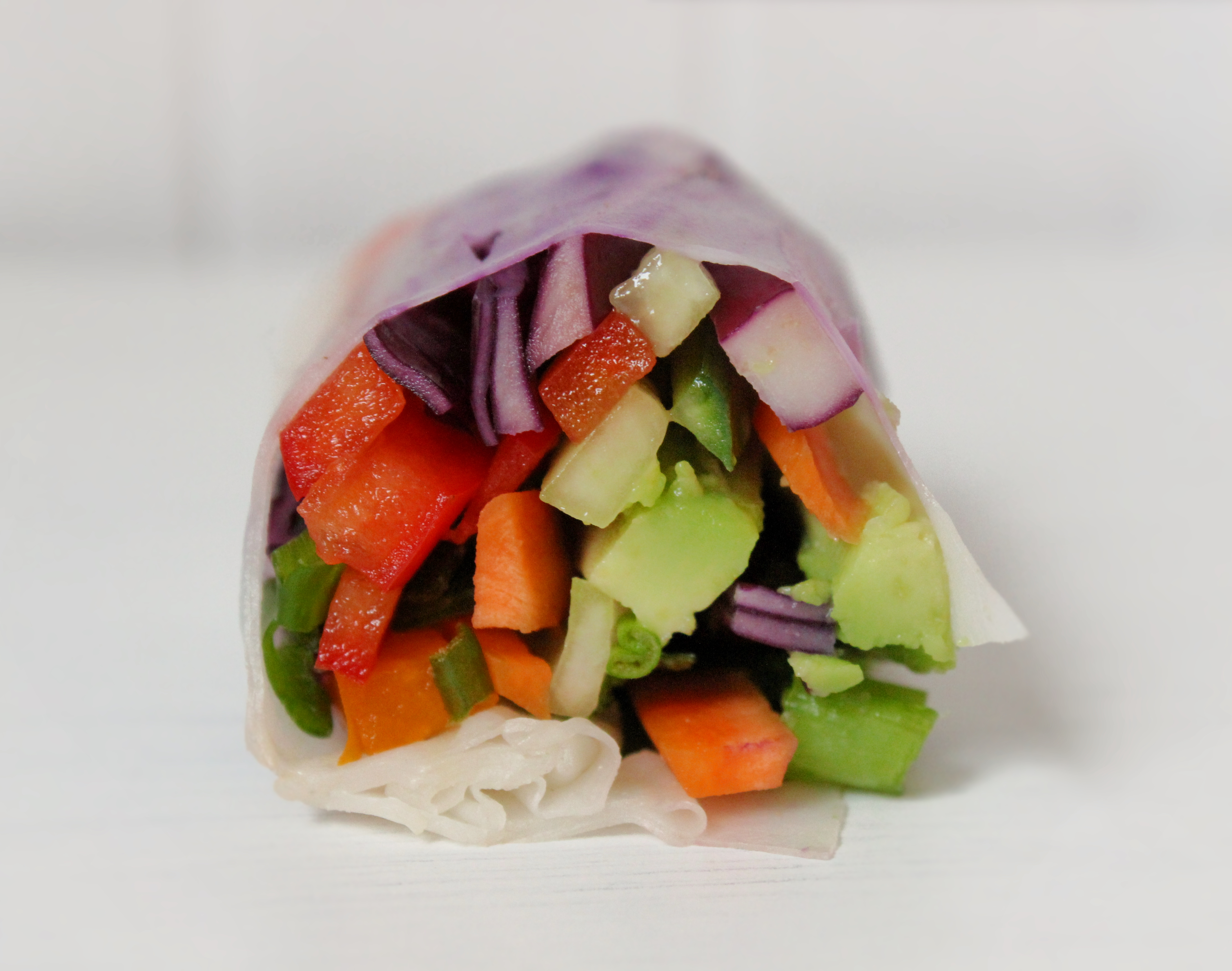 1 Crunchy Rainbow Wraps