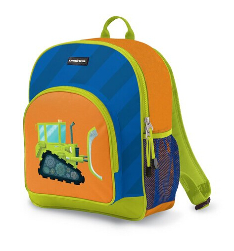 81a4386f0788 The bulldozer backpack is an interesting mix of colors in a simple  illustrated design for kids of three years and older. Many parents attest  to how perfect ...