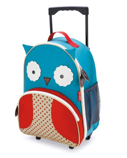 b9f6f282e00a The Skip Hop zoo little kid luggage is a great introduction to travelling  for your little ones. They will love pushing it around during trips or use  it as a ...