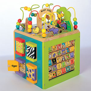 This Is A Several In One Games Type Of Toy It Has K Boo Doors Where Inside The Door An Animal Your Child Supposed To Name