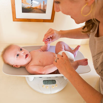 Normal Baby Weight Gain For 0 12 Months Olds