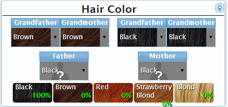 What Will Your Baby S Hair Color Be New Kids Center