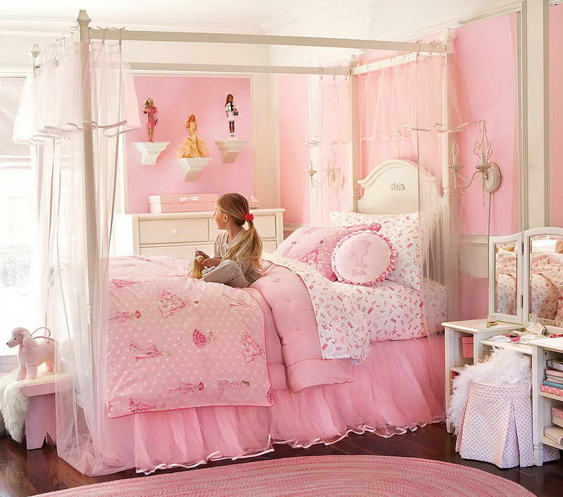 Beautiful ... Of Fun With The Patterns For Bedding, So Donu0027t Worry About Mixing And  Matching. Most People Will Usually Opt For A Twin Bed In Their Little  Girlu0027s Room ...