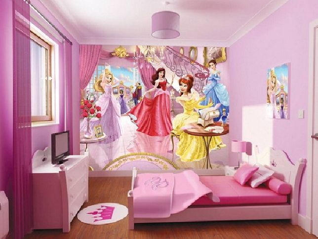 Captivating Little Girls Bedroom Ideas. 1. Select A Theme