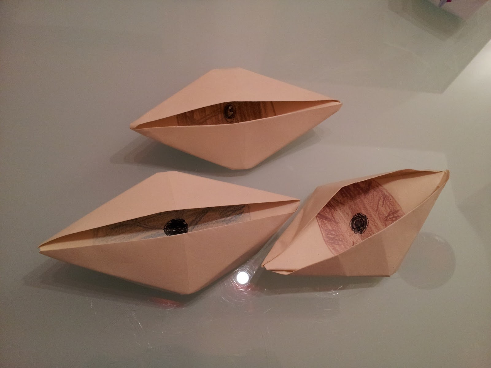 8 best paper crafts for kids new kids center 3 blinking origami eye jeuxipadfo Choice Image