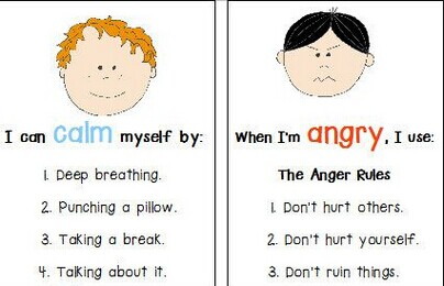 Some Games and Activities for Handling Anger